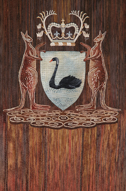 Art Commission For a New Coat of Arms for Western Australia Supreme Court Civil - Guest Post by Maggie Baxter