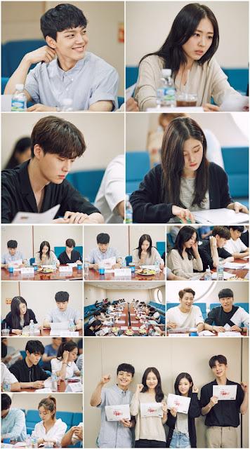 SBS新水木劇《再次重逢的世界》公開演員閱讀劇本照