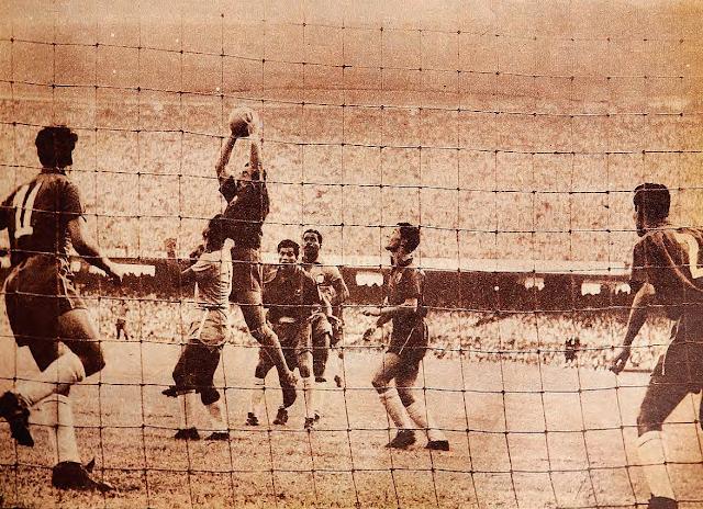 Brasil y Chile en Clasificatorias a Suiza 1954, 14 de marzo