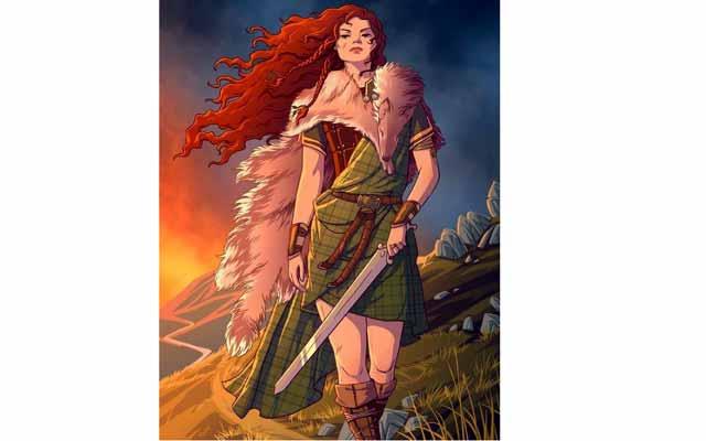 কেল্টিক নারীরা যুদ্ধময়দান ও রাজ্যশাসনে সমানভাবে অংশগ্রহণ করতেন