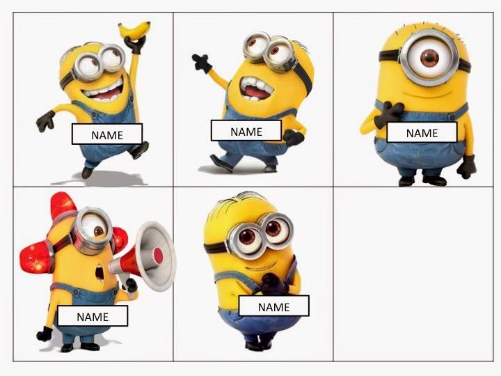Minions Namen