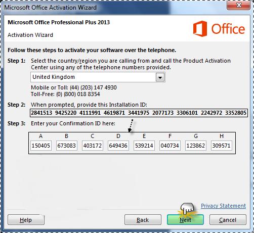microsoft office professional plus 2010 confirmation id generator