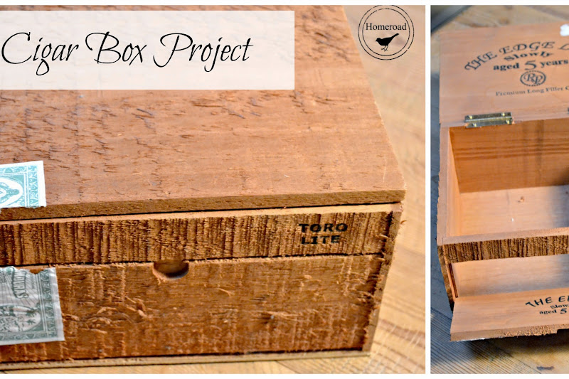 Cigar Box Craft Storage