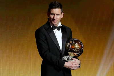 1g - Lionel Messi wins Ballon d'Or for fifth time - more pictures