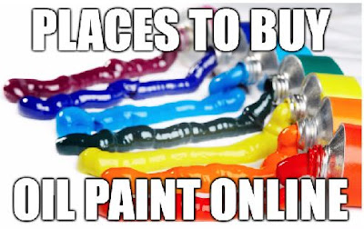 Places to Buy Oil Paint Online