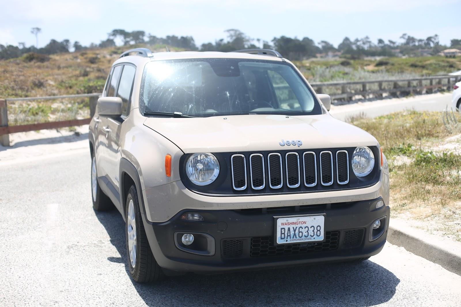 beige jeep