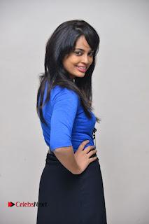 Actress Nandita Swetha Stills in Black Mini Skirt at Ekkadiki Potavu Chinnavada Movie Special Show  0028.JPG