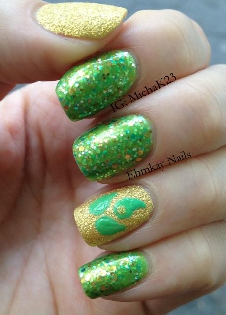 Ehmkay Nails New Year S Eve Nail Art With Kbshimmer Bling: Ehmkay Nails: May 2013