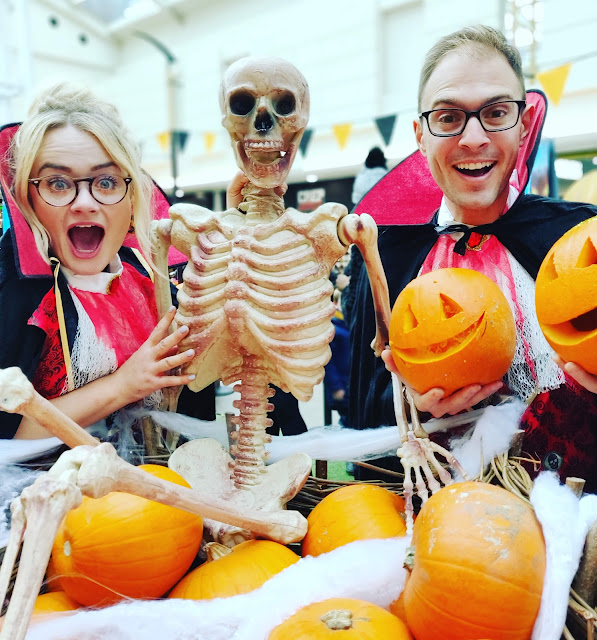 free pumpkin carving at Lewisham Shopping Centre