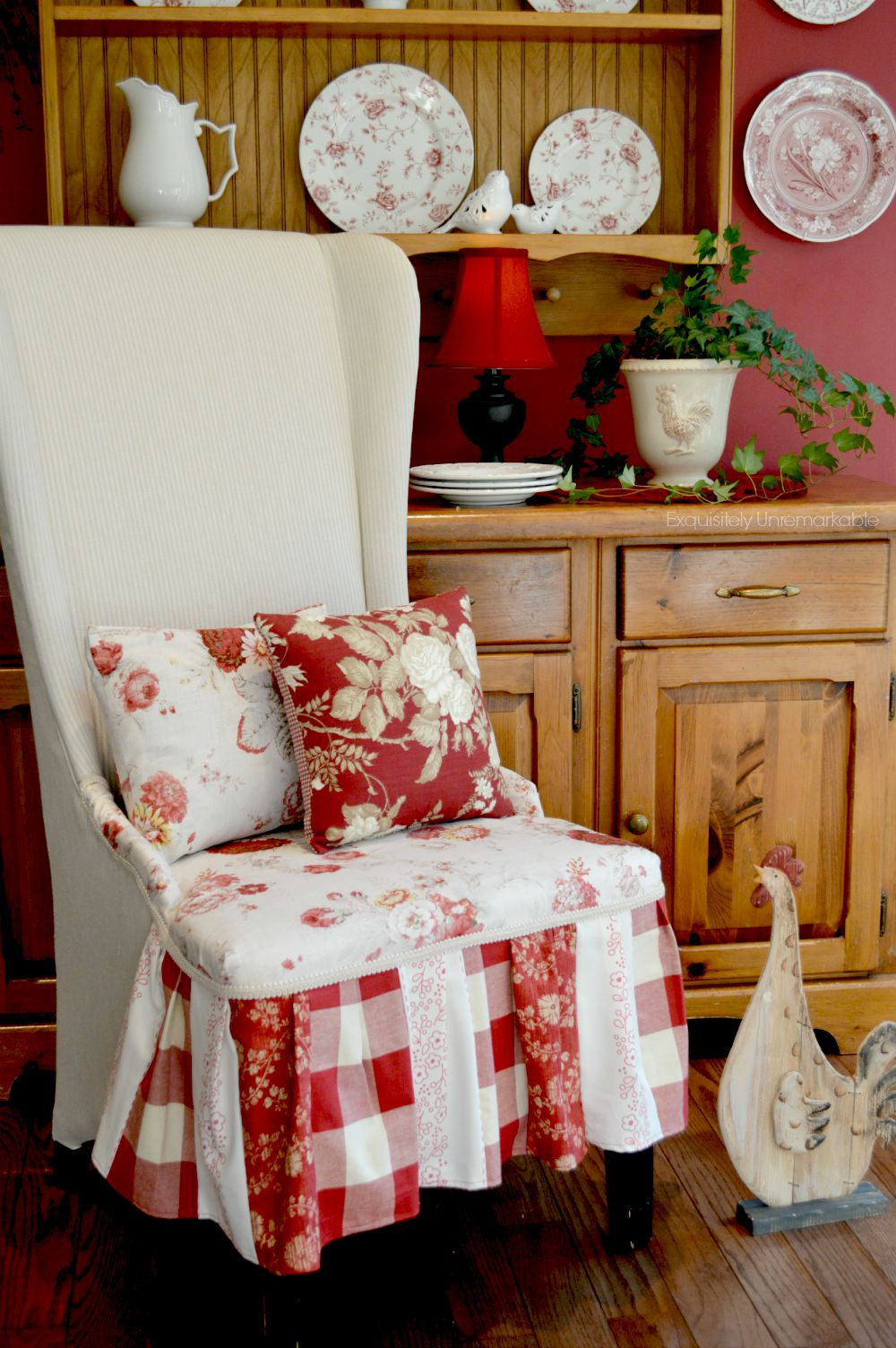 How To Make An Upholstered Chair Skirt