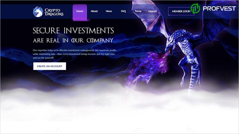 Crypto Dragons LTD обзор и отзывы HYIP-проекта
