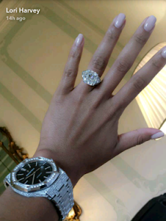 Lori-Harvey-flaunts-huge-diamond-ring