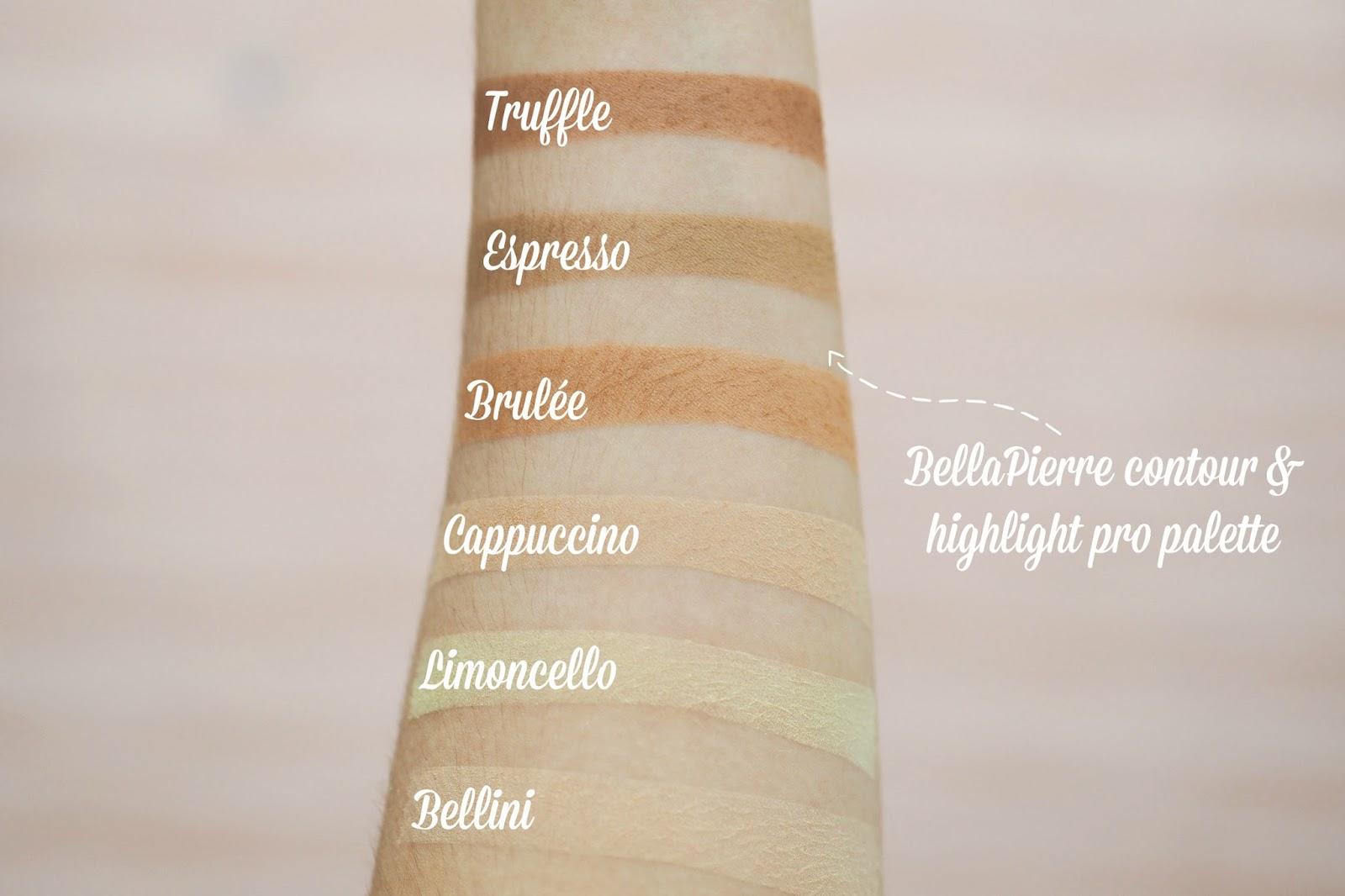 Cohorted beauty box review Bella Pierre contour palette