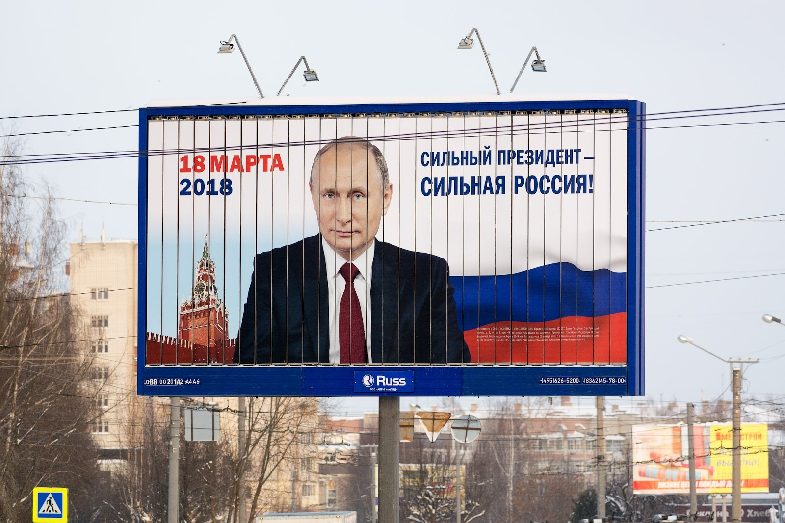 Putin ruft Russen zu Stimmabgabe auf