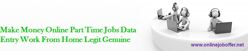 10 Genuine offline data entry jobs without investment 100