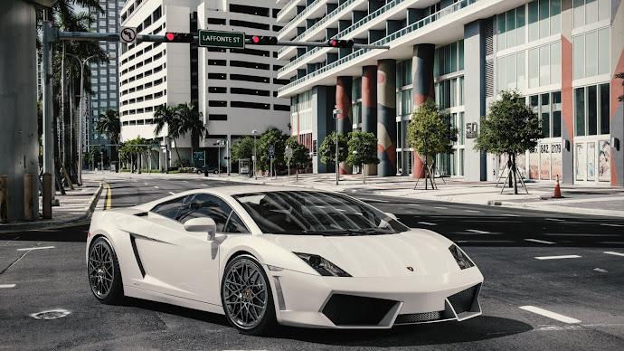 Wallpaper: Lamborghini Gallardo LP 550-4