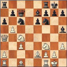 Partida de ajedrez Bayarri Ponsa vs Ribeiro, posición después de 14…a6?