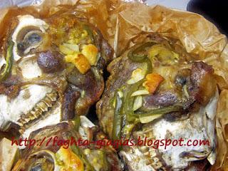 Κεφαλάκια αρνίσια γιούλμπασι στη λαδόκολλα - από «Τα φαγητά της γιαγιάς»