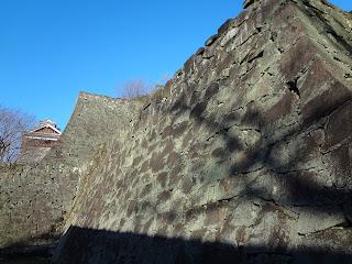 熊本地震前の熊本城(石垣)