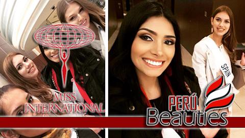 Miss International 2017 | Miss Perú llega a Japón