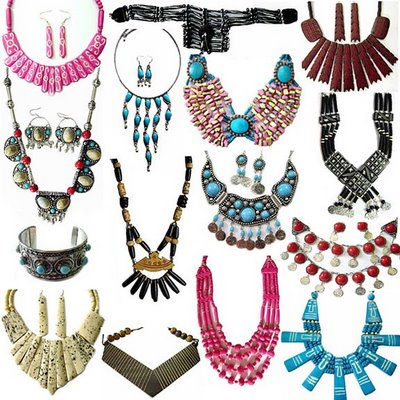 Ethnic Folk and Tribal Jewellery of India