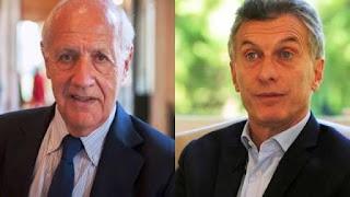 Lavagna en secreto estuvo con Macri en Olivos