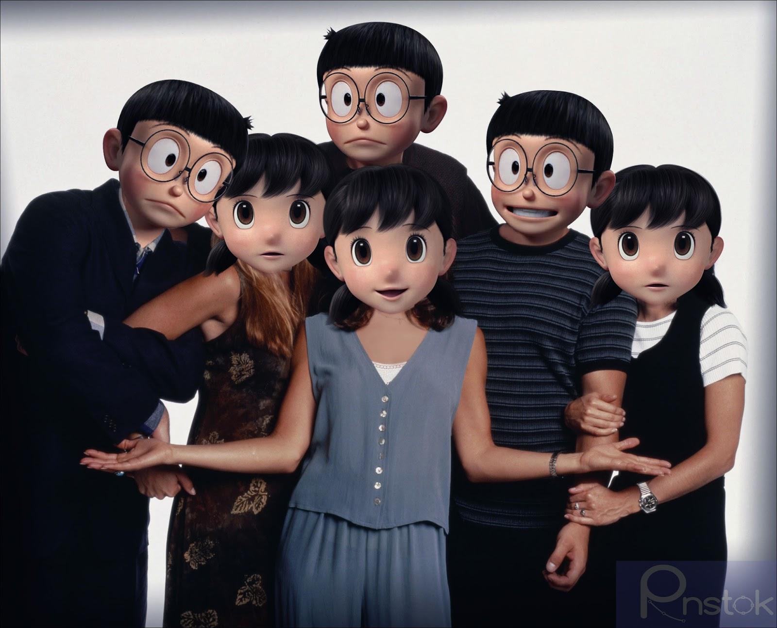 Download Png Mentahan Kepala Nobita Dan Shizuka Hd Pack Rnstok