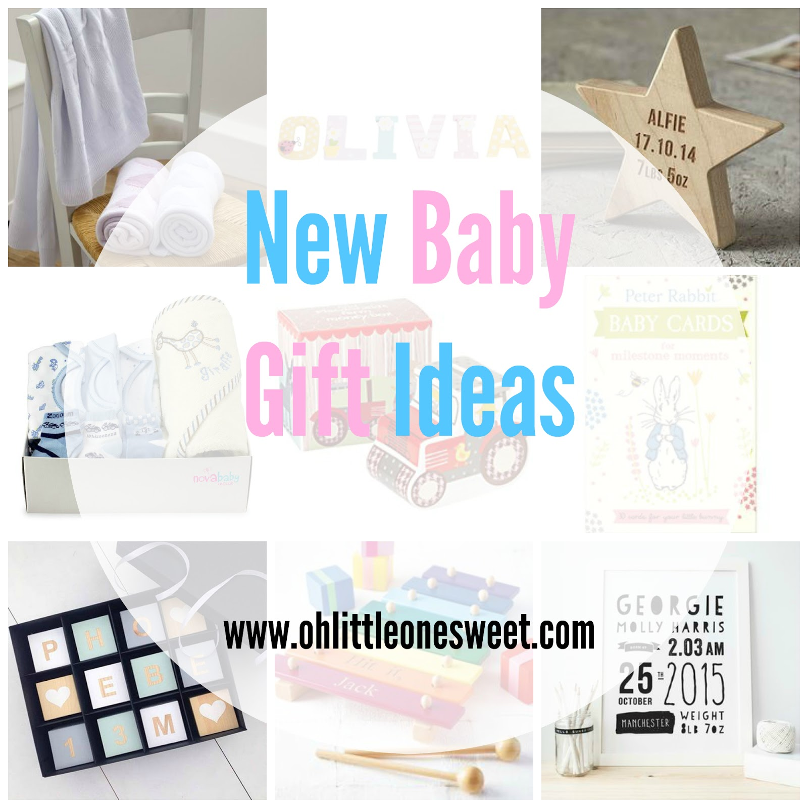 New Baby Gift Ideas | Oh Little One Sweet