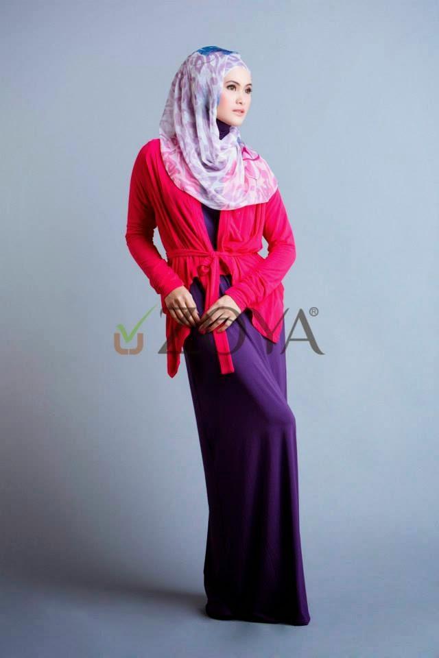 Harga Gamis Merk Zoya Koleksi Baju Muslim Zoya Terbaru 2015 Gamis