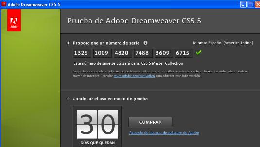 Activar Adobe Master Collection CS5 ~ OraNet Perú