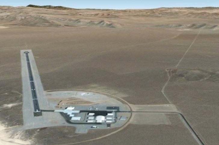 Fotografía de la base conocida como «Área 6»