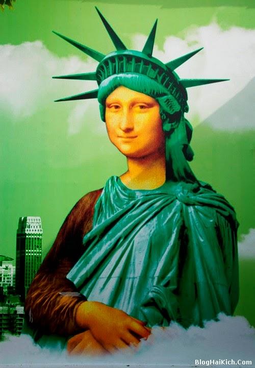 ảnh chế nàng Mona Lisa - Tranh 8