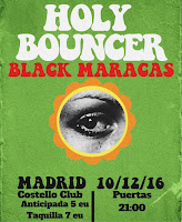 Concierto de Holy Bouncer y Black Maracas en Costello Club