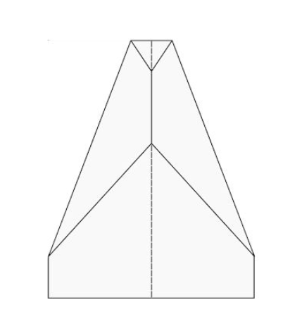image relating to Printable Paper Airplane Template identified as The Least difficult Paper Plane: Paper Aircraft Templates [PDF]