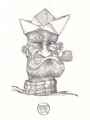 Popeye por Luciano Salles