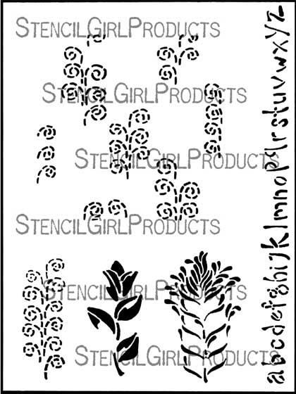 StencilGirl Talk: 6 New Stencils by Our New Designer