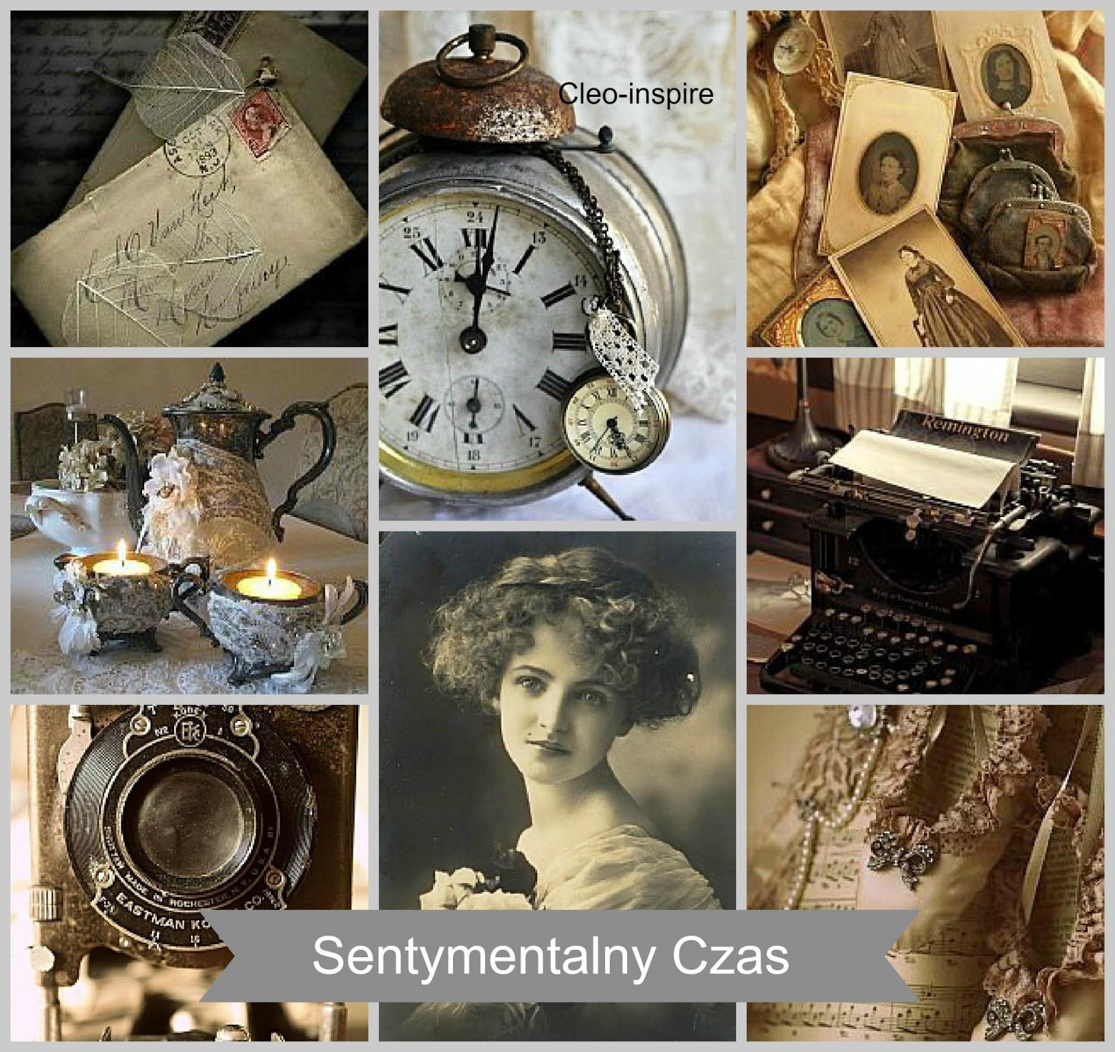 stare zegarki, aparaty, listy