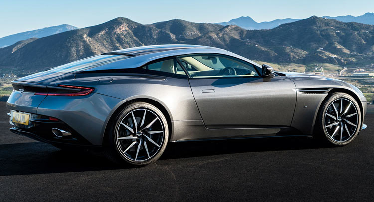 new 2017 aston martin db11 photos look official. Black Bedroom Furniture Sets. Home Design Ideas