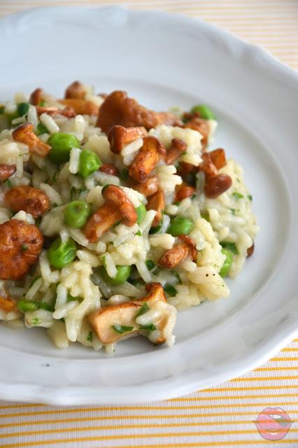 risotto wegetariańskie