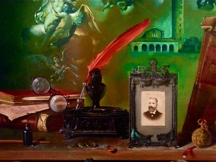 Сербский художник-реалист. Dusan Jovanovic 13