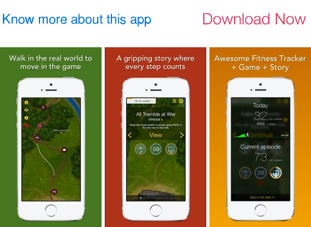 Download The Walk - Fitness Tracker and Game for iPhone