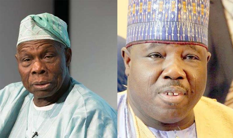 PDP factional chairman Sheriff visits Obasanjo in Abeokuta
