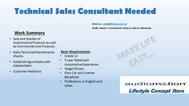 Pre sales technical consultant resume