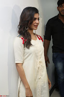 Samantha Ruth Prabhu Smiling Beauty in White Dress Launches VCare Clinic 15 June 2017 020.JPG