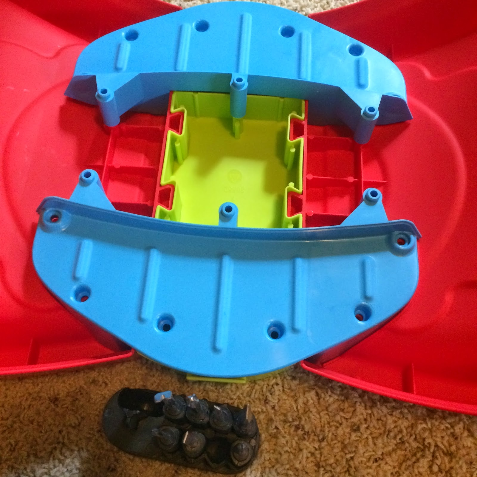 almost finished with build #TeamLittleTikes