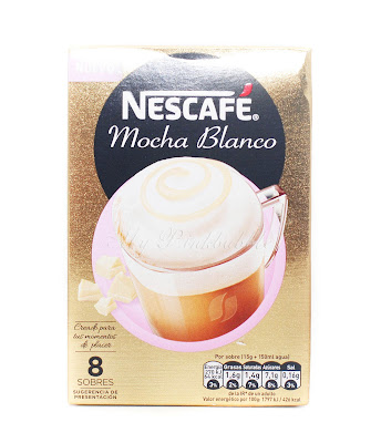 Nescafe Mocha blanco