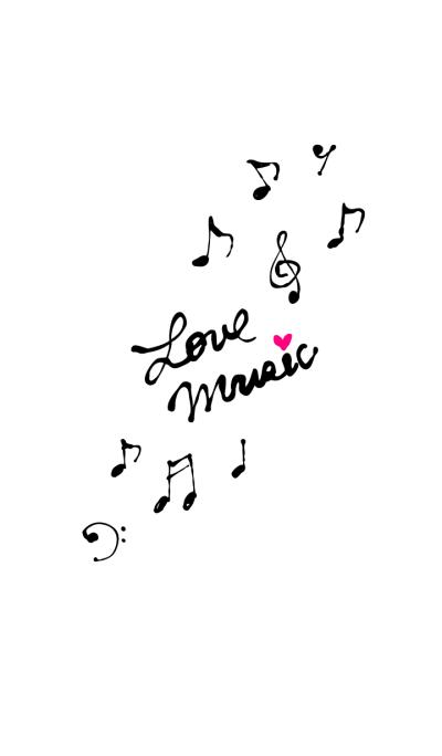 Love Music-White-joc