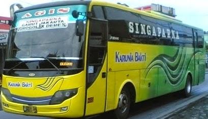 rute dan tarif bus karunia bakti