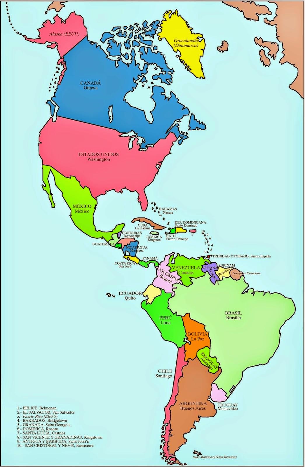 Lo mejor del continente americano estados unidos 2