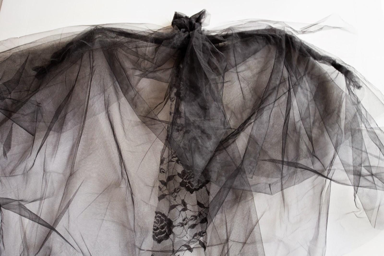 Diy Tulle Bat